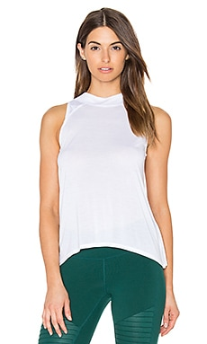 alo Crest Tank in White