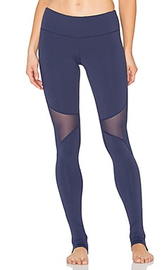 alo Coast Legging in Rich Navy