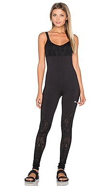 Siren Unitard in Black