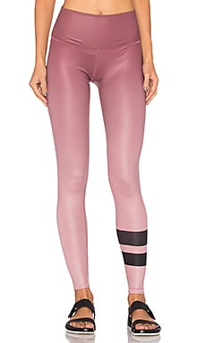 alo High-Waist Airbrush Legging in Gradient Grenache