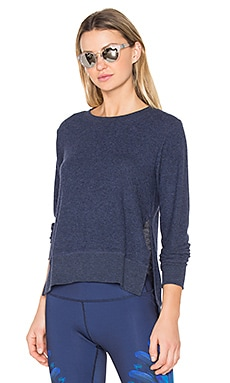 Glimpse Pullover in Rich Navy Heather