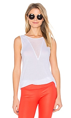 Warm Up Tank in White