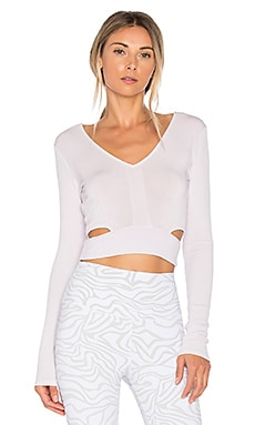 Aura Crop Long Sleeve Top