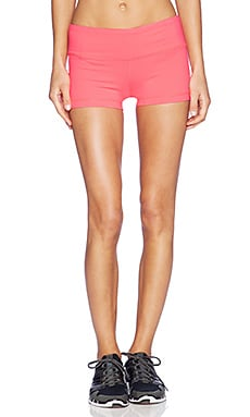 alo Big Waves Short in Neon Azalea