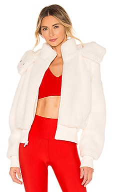 Foxy Faux Sherpa Jacket alo $188 BEST SELLER