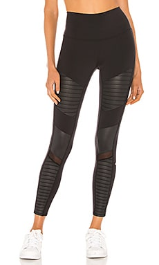 7/8 High Waist Moto Legging alo $114