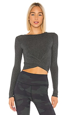 Cover Long Sleeve Top alo $68 NEW ARRIVAL