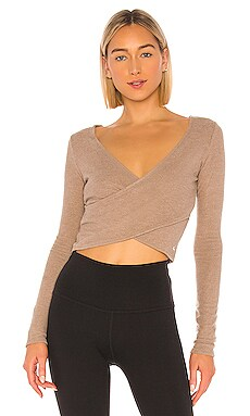 TOP CROPPED LUXE alo $68