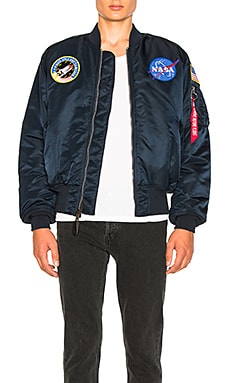 Nasa MA 1 Bomber ALPHA INDUSTRIES $165 BEST SELLER