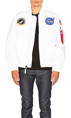 MA 1 Nasa Bomber ALPHA INDUSTRIES $165 NOUVEAU