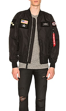 L 2B Flex Bomber ALPHA INDUSTRIES $150