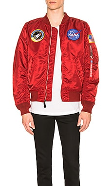L 2B Nasa Bomber ALPHA INDUSTRIES $165