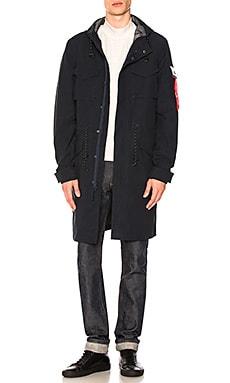 Quartermaster Waterproof Field Coat ALPHA INDUSTRIES $250