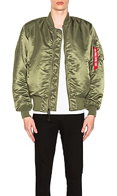 MA-1 Blood Chit Bomber Jacket ALPHA INDUSTRIES $150