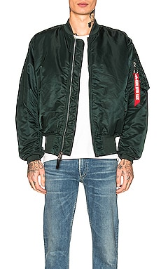 CHAQUETA MA-1 BLOOD CHIT ALPHA INDUSTRIES $150