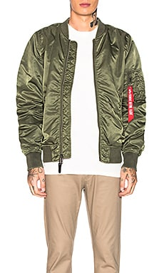 CHAQUETA L-2B BLOOD CHIT BATTLEWASH ALPHA INDUSTRIES $200