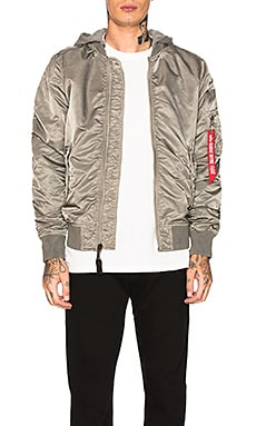 L-2B Hooded Battlewash Jacket ALPHA INDUSTRIES $158