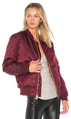 Купить Куртку ma-1 - ALPHA INDUSTRIES цвет вишня