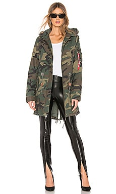 Meri Fishtail Field Coat ALPHA INDUSTRIES $180