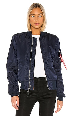MA-1 Slim Fit Bomber ALPHA INDUSTRIES $150