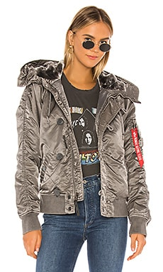 N-2B Battlewash Parka With Faux Fur ALPHA INDUSTRIES $250