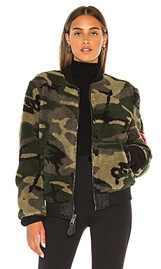 I-2B Sherpa Flight Jacket ALPHA INDUSTRIES $180 NEW ARRIVAL