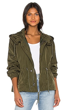 Nylon Short Fishtail Jacket ALPHA INDUSTRIES $125