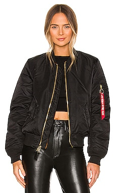 MA-1 W Bomber in Black