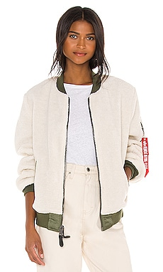 L-2B Sherpa Flight Jacket ALPHA INDUSTRIES $180 NEW