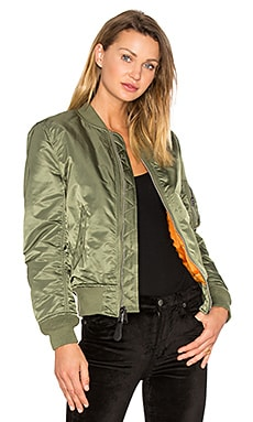 MA-1 W Bomber ALPHA INDUSTRIES $150 BEST SELLER