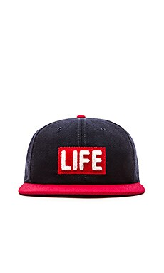 Altru LIFE Wool 6 Panel Hat in Navy