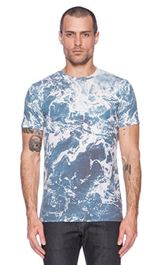 T-SHIRT GRAPHIQUE OCEAN FROTH