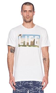 Altru Life Bikini Tee in White