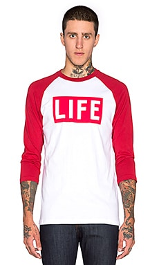 Altru LIFE Raglan in White & Chili