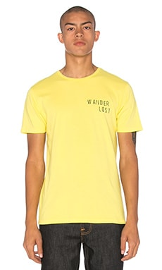 Altru Wander Lost Tee in Pale Yellow