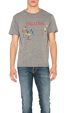 Vacation Tee in Grey Triblend