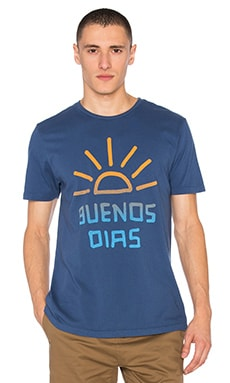 Altru Buenos Dias Tee in True Navy