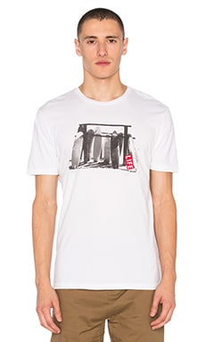 Life Logs Tee in White