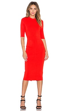 A.L.C. Scoppa Dress in Rouge