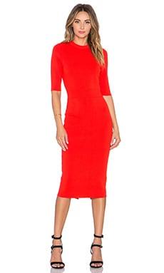 A.L.C. Scoppa Dress in Rouge