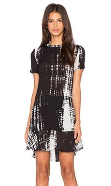 A.L.C. Louise Dress in Black & White