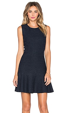 Laurence Dress in Navy