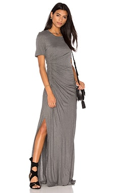 Laila Dress in Dark Heather Grey