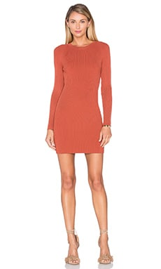 Nick Dress in Suede