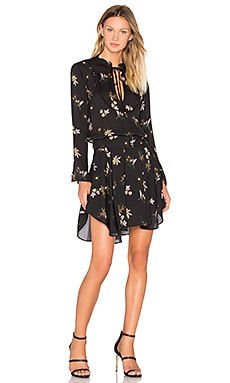 A.L.C. Campbell Dress in Black Multi
