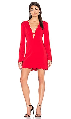 Eve Dress in Crimson