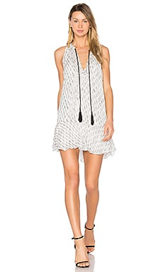 Hadley Dress in White & Black