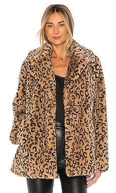 Stone Faux Fur Coat A.L.C. $149