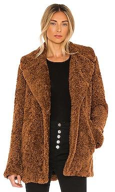 Stone Faux Fur Coat A.L.C. $495 NEW
