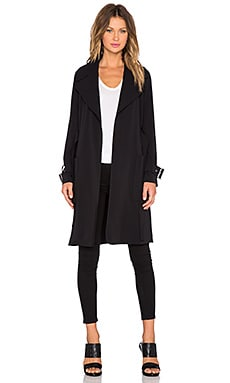 A.L.C. Engels Coat in Black